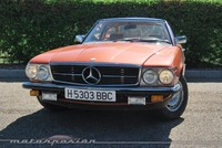 Mercedes-Benz 280 SL (R107), retroprueba
