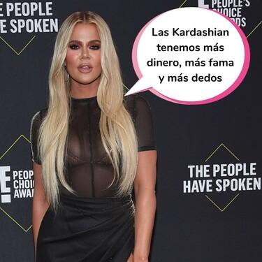 La foto con seis dedos en el pie de Khloé Kardashian que ha revolucionado Instagram (o lo que pasa cuando se te va la mano con el Photoshop)