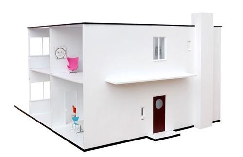 Una casa de muñecas inspirada en Arne Jacobsen