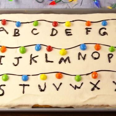 Este increíble pastel de Stranger Things amenizará la espera hasta el estreno de la segunda temporada