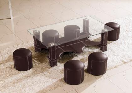 mesa con taburetes 2
