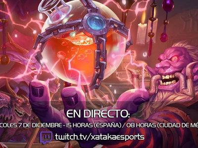 Jugamos en directo a Hearthstone a las 15:00 horas (las 08:00 en Ciudad de México) [Finalizado]