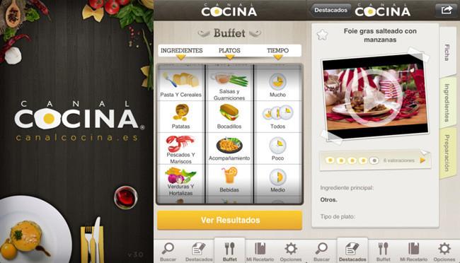 Un iphone para com rselo cinco aplicaciones gratuitas de for Canal cocina cocina de familia