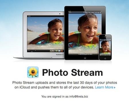 photo stream iphoto apple