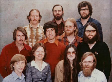 Los chicos de Microsoft de 1978. La imagen de la semana