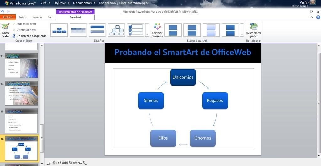 Foto de Office Web Apps Tech Preview (10/13)