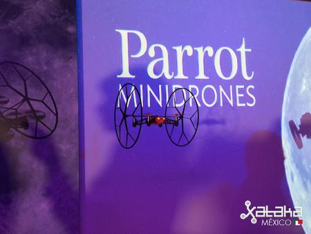 Parrot trae a México su nueva gama de minidrones