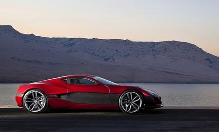 Rimac Concept One rojo