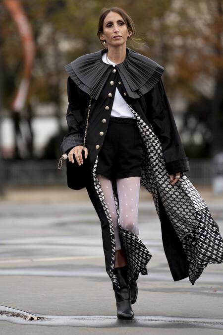 Medias Chanel Street Style 01