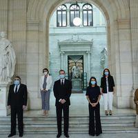 Copiamos el total look en azul marino de la reina Letizia del que podemos tomar muy buena nota