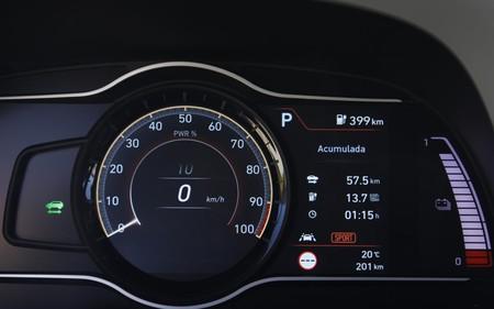 Hyundai Kona Electrico marcador digital