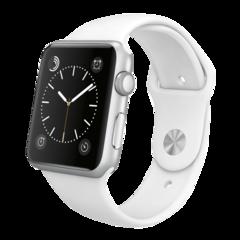 Foto 1 de 3 de la galería apple-watch-sport-aluminio-en-plata-y-correa-deportiva-blanca en Compradicción