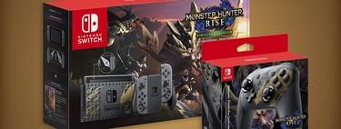Nintendo Switch, Pro Controller y control HORI de 'Monster Hunter Rise' ya disponibles en Amazon México