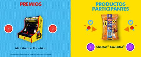 Tazos Pac Man Sabritas Premios