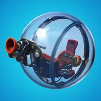 El nuevo vehículo de Fortnite es ¡una bola de hamster!