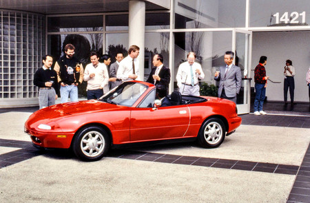Miata 1989 Celebration At Us Rd 1