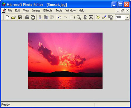 Microsoft Photo Editor