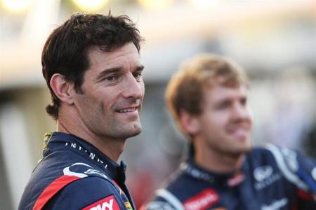 Mark Webber promete luchar contra Sebastian Vettel el año próximo