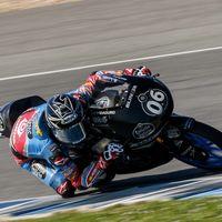 Remy Gardner y Sergio García Dols comienzan mandando en los test de pretemporada de Moto2 y Moto3 en Jerez