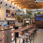 The Nook, un bar de aire anglosajón diseñado con madera de derribo