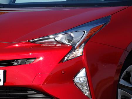 Frontal Prueba Toyota Prius 2016 Detalles Exteriores