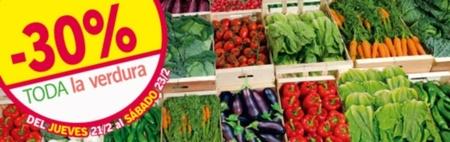 LIDL nos ofrece un 30% de descuento en toda la verdura