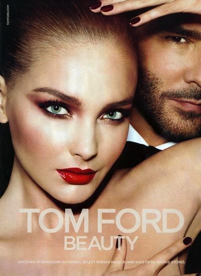 Tom Ford Beauty campaña 2012/2013: ¿Quién dijo que los excesos no eran buenos?
