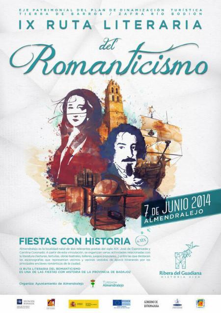 cartel rutas romanticismo