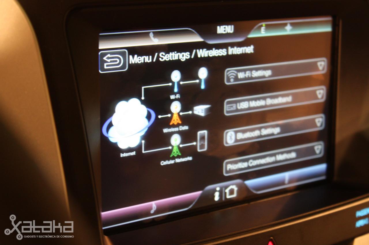 Foto de Ford Sync y MyFordTouch, el nuevo interfaz de Ford para coches (9/23)