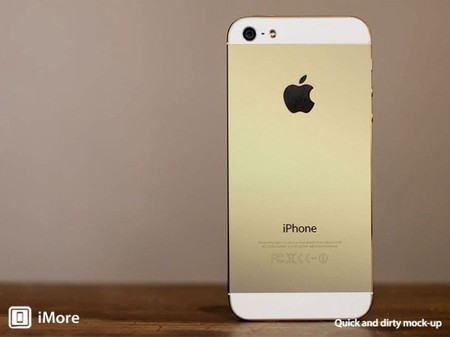 Rumor: El próximo iPhone 5S podría ser de color oro