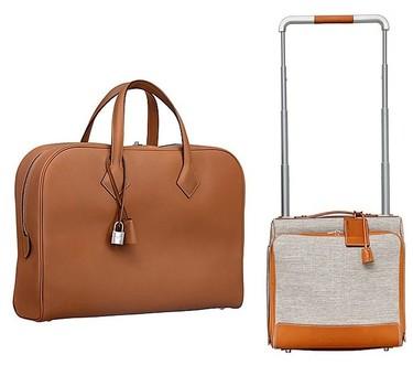 Equipaje de mano de lujo para esta Primavera-Verano 2012 firmado por Hermès