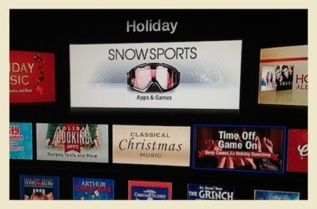 """El AppleTV muestra por error """"aplicaciones"""" en la iTunes Store"""