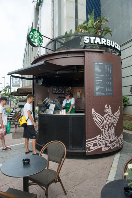 Starbucks Kiosko Marbella