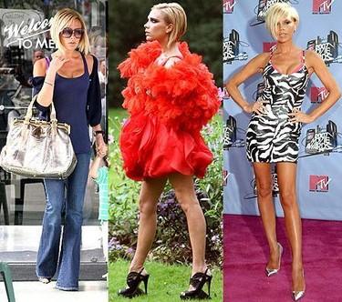 Un año de moda con Victoria Beckham