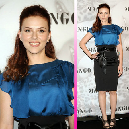 Scarlett Johansson aterriza en Madrid de promoción
