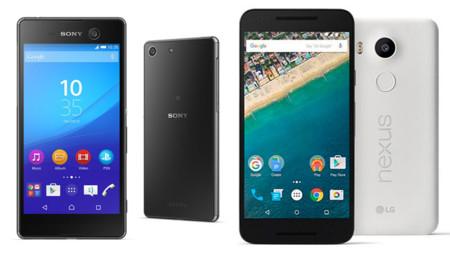 Sony Xperia M5 vs Nexus 5X