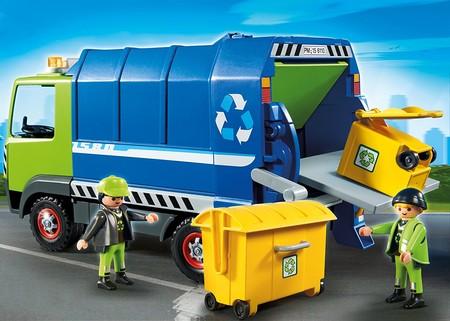 Camión de reciclaje de Playmobil a su precio más bajo: sólo 15 euros