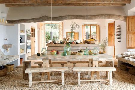 Casas que inspiran: una casa muy natural