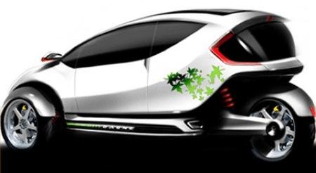 Revolution Motors Dagne EV, un biplaza híbrido