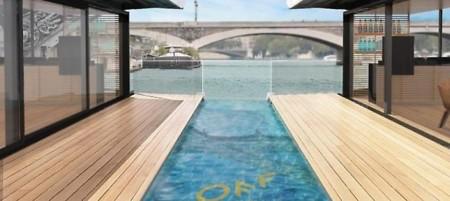 Dormir sobre el Sena ya es posible: Así es el primer hotel flotante de Francia