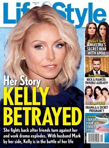 Kelly Ripa, en pleno drama personal