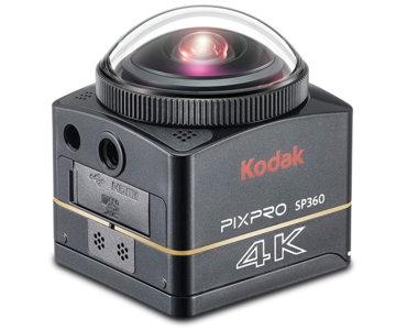 Kodak PixPro SP360, graba tus vídeos en 360º, calidad 2K y objetivo ƒ/2.8