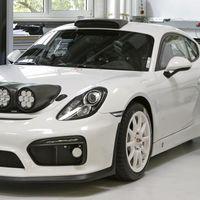 "¿Porsche planea regresar a los rallies? El Cayman Clubsport Rallye Concept recaudará información para ""un modelo futuro"""
