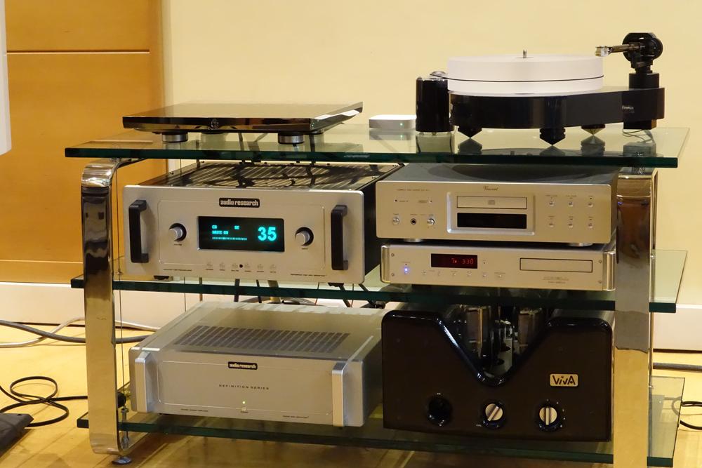 Foto de Equipos HiFi Audio Research y Sonus Faber / Devialet y Atohm (3/8)