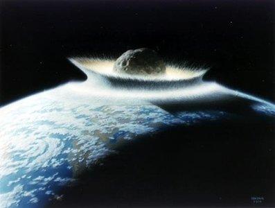 ¿Un asteroide podría vaciar por completo el océano Pacífico?