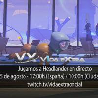 Jugamos en directo a Headlander a las 17:00h (las 10:00h en Ciudad de México) (finalizado)