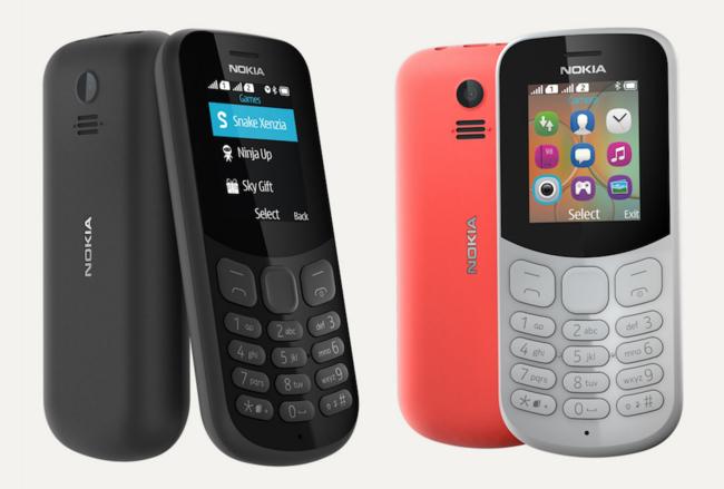 Nuevo Nokia™ 130: el paso intermedio entre el 105 y 3310, con reproductor MP3 y cámara de fotos