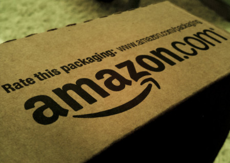 amazon paquete caja