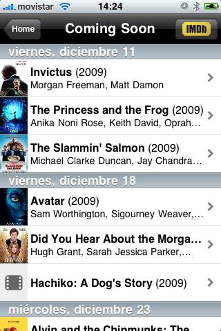 IMDb para iPhone