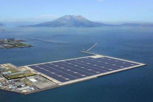 Se abre en Japón una planta solar que triplica el tamaño de la Ciudad del Vaticano